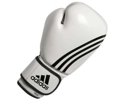 Adidas Boxfit Boxing Gloves Climacool  White/Red  10oz