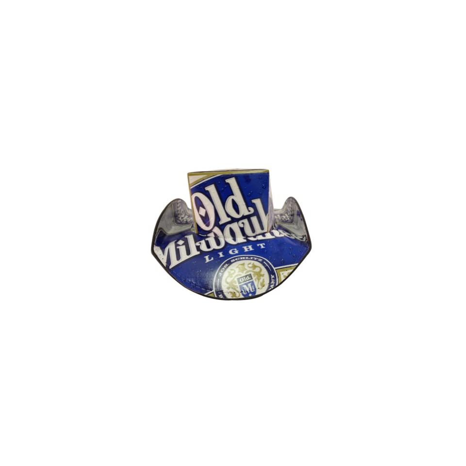 Licensed Old Milwaukee Light Beer Box Top Style Beer Hat at  Men's Clothing store