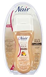 Nair Hair Remover Spa Clay Roll-On Wax 5.7oz (3 Pack)