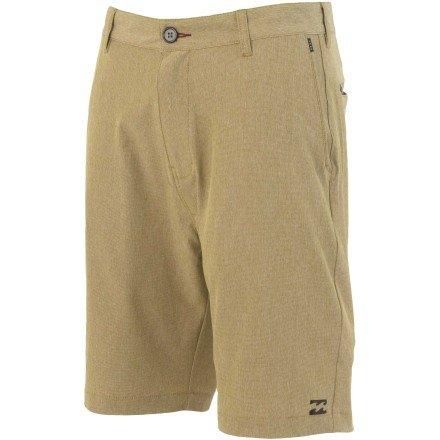 Billabong Little Boys' Kids Crossfire Px Shorts, Gravel, 7/X-Large front-256829