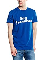 French Connection Camiseta Manga Corta (Azul Royal)