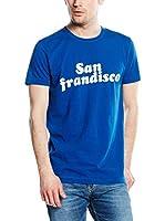French Connection Camiseta Manga Corta (Azul Royal)