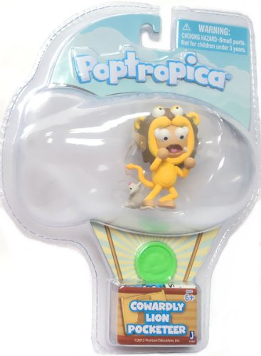 Poptropica Pocketeer 2 Inch Mini Figure Cowardly Lion - 1