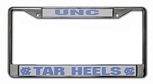 Buy NCAA North Carolina Tar Heels Chrome License Plate Frame by Rico