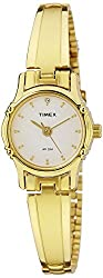 Timex Classics Analog White Dial Womens Watch - B806