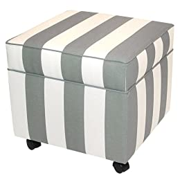 Dwell Storage Cube - White/ Charcoal : Target