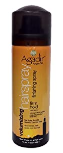 Agadir Argan Oil Volumizing Hair Spray Firm Hold, 1.5 Ounce