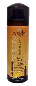 Agadir Argan Oil Volumizing Hair Spray Firm Hold, 1.5 Ounce