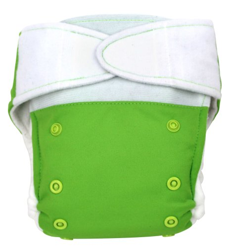 Babykicks Premium Cloth Diaper Hook And Loop Closure, Meadow front-418328