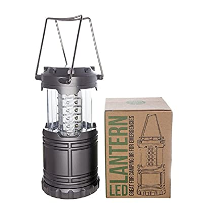 Modern Utensils Camping Lantern - Ultra Bright Lightweight 30 LED Lantern Best for Camping, Backpacking, Hurricane Outages, and Emergencies - No More Dangerous Gas Lanterns. Lighten up Your Camp Gear!