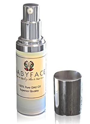 Babyface Emu Oil- Premium, Cosmetic Grade for Dry Skin, Rashes