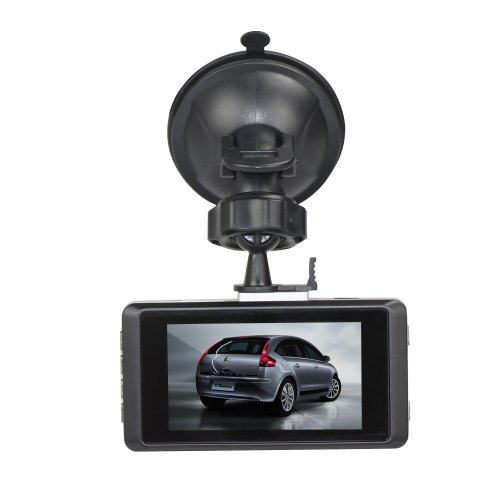 FLY-Shop Auto DVR /Auto-Kamera DVR/Auto Kamera, Überwachungskamera, Video Camcorder, Car Black Box, DVR Recorder mit 120 Grad Bildwinkel und 2,7-Zoll-TFT-LCD, Unterstützt SD-Karte bis zu 32GB