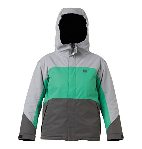 DC Shoes Boys Amo Snowboard Jacket Grey Xl DC B009DX67GG