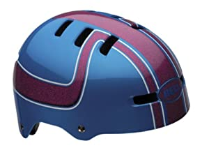 Bell Fraction Youth Multi-Sport Helmet (Pink/Blue Boss, Small)