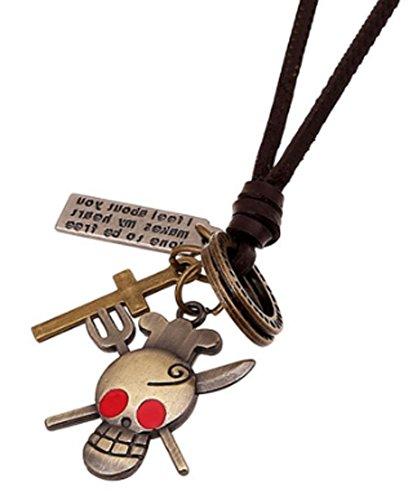 SaySure - Vintage Steam Punk Collares Charm Statement Necklace