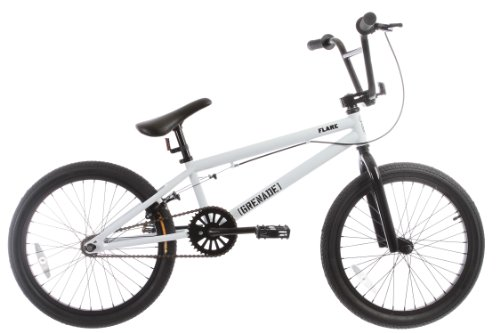 Grenade Flare Mens BMX Bike White 20