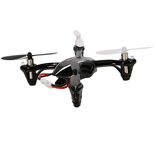 Hubsan X4 H107L 4 Channel 4Ch 2.4G 6 Axis Radio Control Rc Quadcopter Mini Micro Quad Copter Rtf With Led Light Black