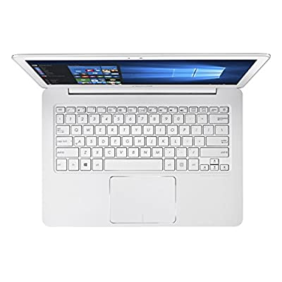 Asus UX305FA-FC123T 13.3-inch Laptop (Core M-5y10/4GB/256GB/Windows 10/Integrated Graphics), White