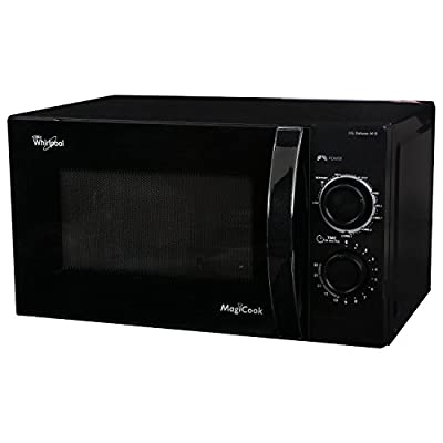 Whirlpool Magicook Deluxe-M-B 14842 20-Litre 700-Watt Grill Microwave Oven (Black)