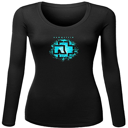 Rammstein long sleeve Tops T shirts -  Maglia a manica lunga  - Donna Black Large