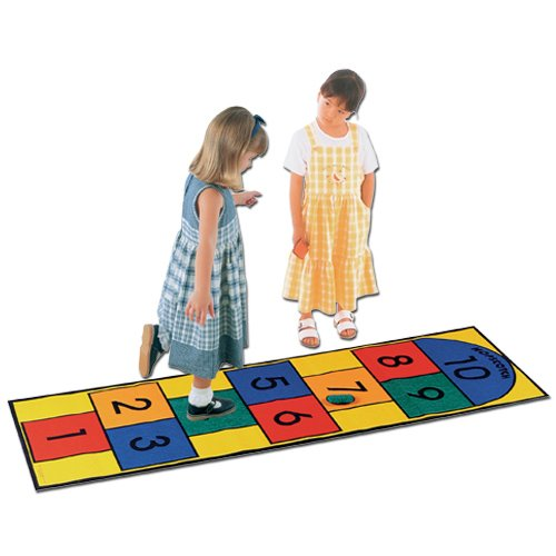 Learning Carpets Hoscotch Play Carpet