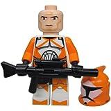 Lego Star Wars Clone Trooper Orange