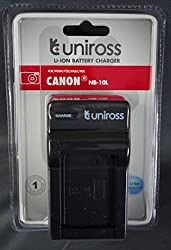 Uniross Charger NB-10L for Canon