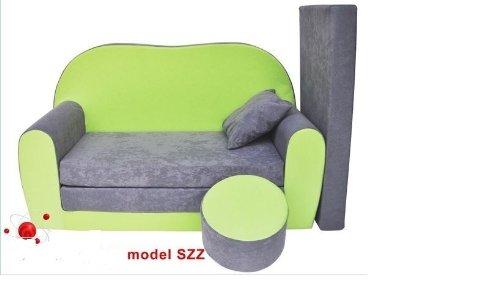 Divano divanetto bambini e cuscino e puff mini divano for Divanetti per bambini
