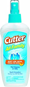 Cutter 51070 All Family 6-Ounce Insect Repellent Pump Spray