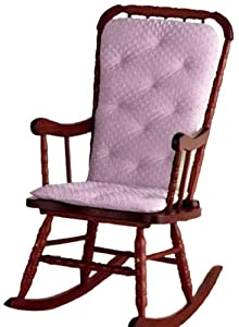 aBaby Heavenly Soft Adult Rocking Chair Cushion, Pink