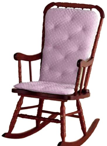 Ababy Heavenly Soft Adult Rocking Chair Cushion, Pink front-26890