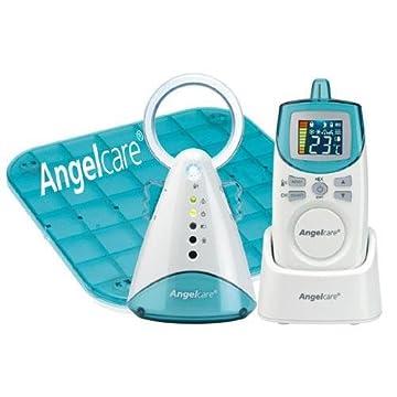 Angelcare Movement and Sound Monitor, Auqa/White