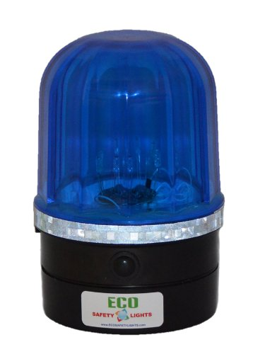 P6LM1 LED Portable Rapid Flashing Safety Lights Personal Hazard Light (BLUE) (Portable Hazard Lights compare prices)