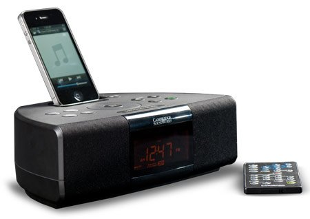 Cambridge SoundWorks Radio i525 Compact Table Top Radio with iPod dock