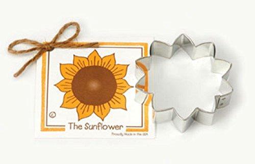 Cookie Cutter - Sunflower Cookie Cutter By Ann Clark