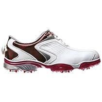 FootJoy 2014 FJ Sport Rocket BOA Golf Shoes : White-Red Medium 10