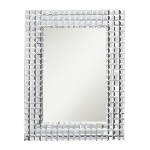 Kichler Lighting 78121 Bling 38-Inch Mirror, Multi-Beveled Tile Mirrored Frame With Tile Mirror Inset front-864122