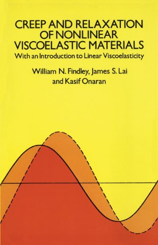 Creep and Relaxation of Nonlinear Viscoelastic Materials (Dover Civil and Mechanical Engineering)
