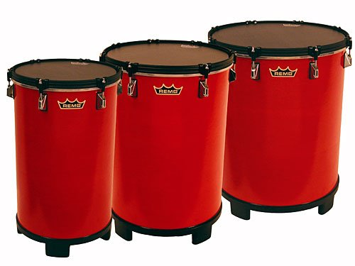 "Remo 16"" x 21"" Bahia Bass Drum, Gypsy Red"