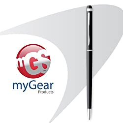 myGear Products PerfectPoint Plus Stylus & Pen for iPad, iPhone, iPod, & Other TouchScreens - Black