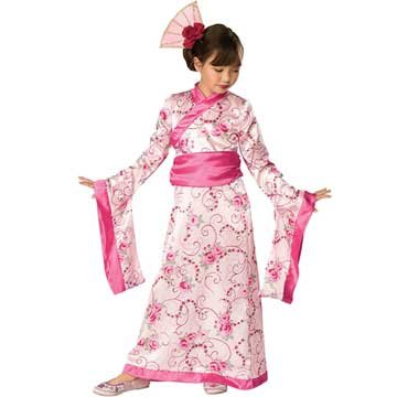 Girls' Asian Princess Costume