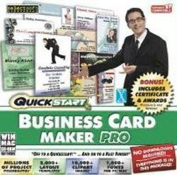 Arcmedia Quickstart Business Card Maker Pro (Digital Juice Fonts compare prices)