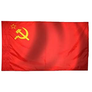 Ussr flag old soviet union flag 3x5 ft russian for Garden shed 3x5