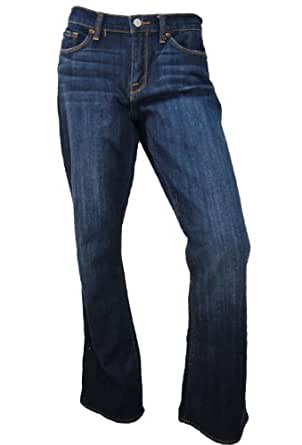 Lucky Brand Women's Sofia Curvy Boot Jeans, 26 x 32, Dark Wash