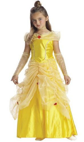 Girls Enchanted Princess Belle Costume - She is such a Beauty!