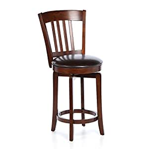 24 5 swivel bar stool Home bar furniture amazon