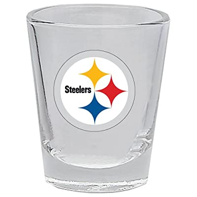 Hunter 1101-10-5532 Shot Glass, 2 oz. Pittsburgh Steelers