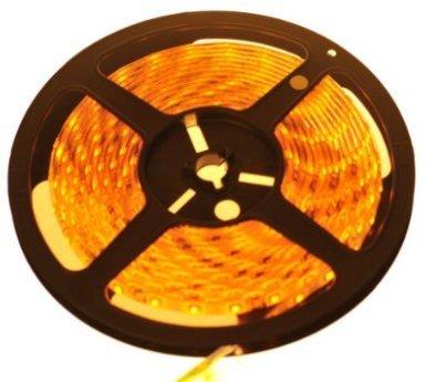 Pwow® Waterproof Orange Led 3528 Smd 300Led 5M(16.4 Feet) Flexible Light Strip 12V