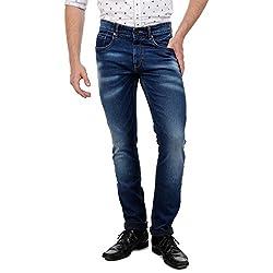Sting Blue Slim Fit Stretchable Denim (SB3026J2N34)