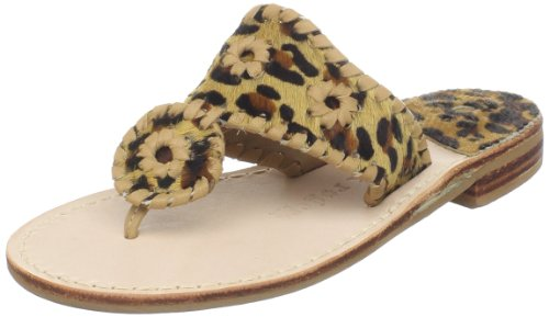 Jack Rogers Kenya Thong Sandal (Toddler/Little Kid),Tan Jaguar,10 M US Toddler